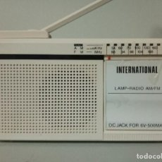 Radios antiguas: RADIO TRANSISTOR INTERNATIONAL FX7. Lote 135841362