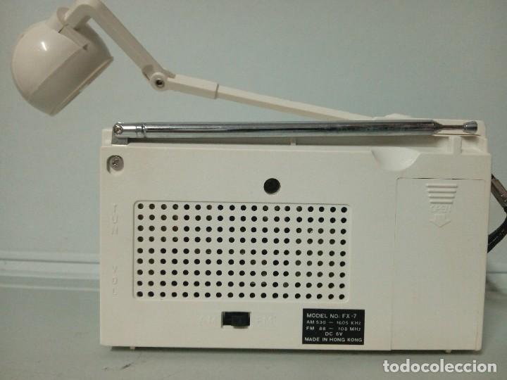 Radios antiguas: Radio transistor International Fx7 - Foto 3 - 135841362