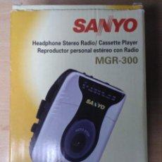 Radios antiguas: WALKMAN SANYO. MGR-300. Lote 136015630