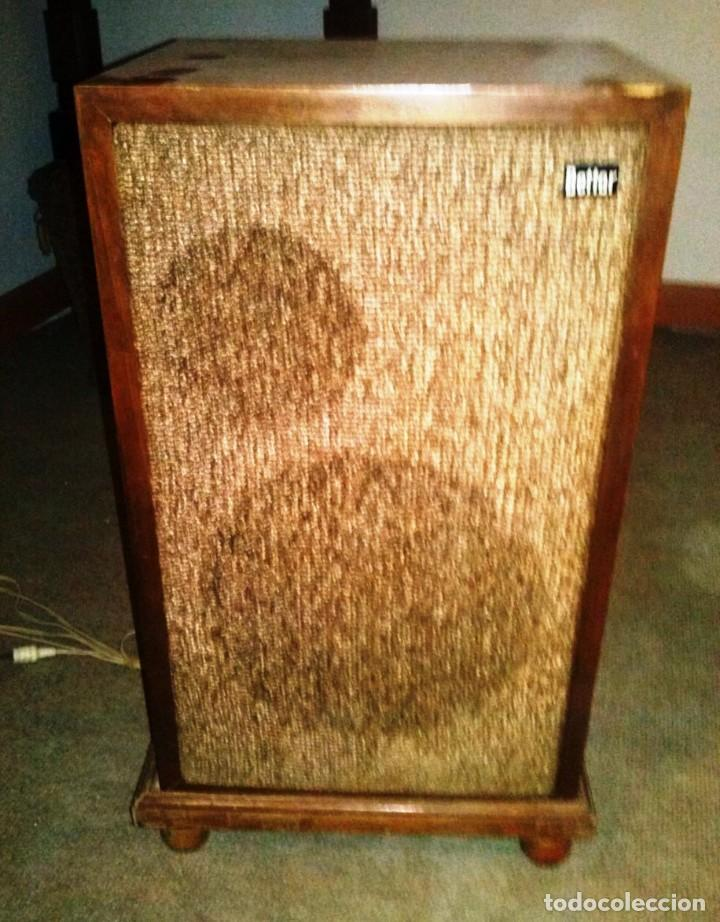 Radios antiguas: TOCADISCOS ANTIGUO BETTOR DUAL - Foto 3 - 136068662