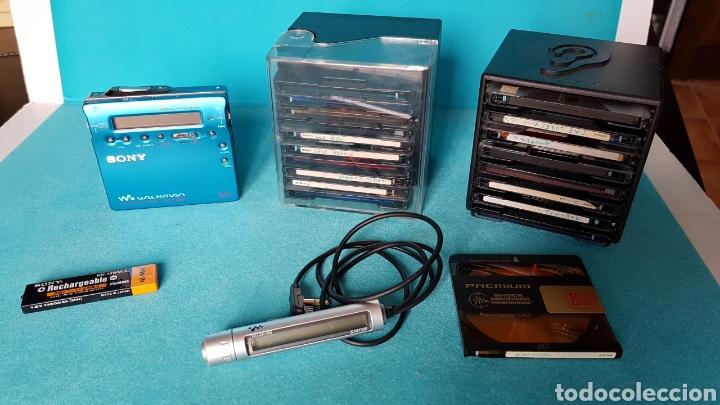 WALKMAN SONY MINI DISC MD MZ R900, usado segunda mano