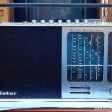 Radios antiguas: TRANSISTOR INTER. Lote 136188670