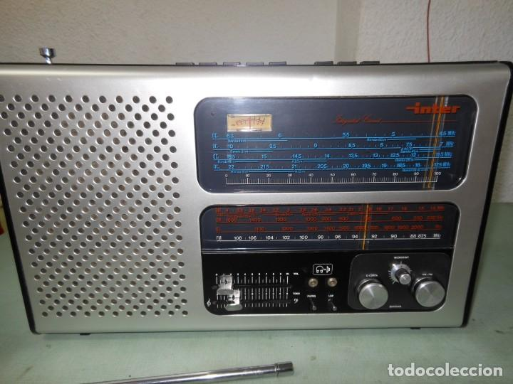 RADIO MULTIBANDAS INTER EUROMODUL 134 (Radios, Gramófonos, Grabadoras y Otros - Transistores, Pick-ups y Otros)