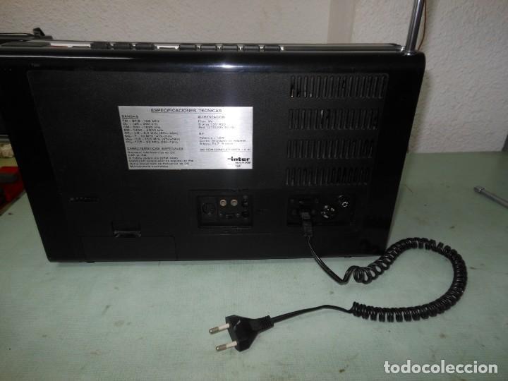 Radios antiguas: RADIO MULTIBANDAS INTER EUROMODUL 134 - Foto 2 - 136301538