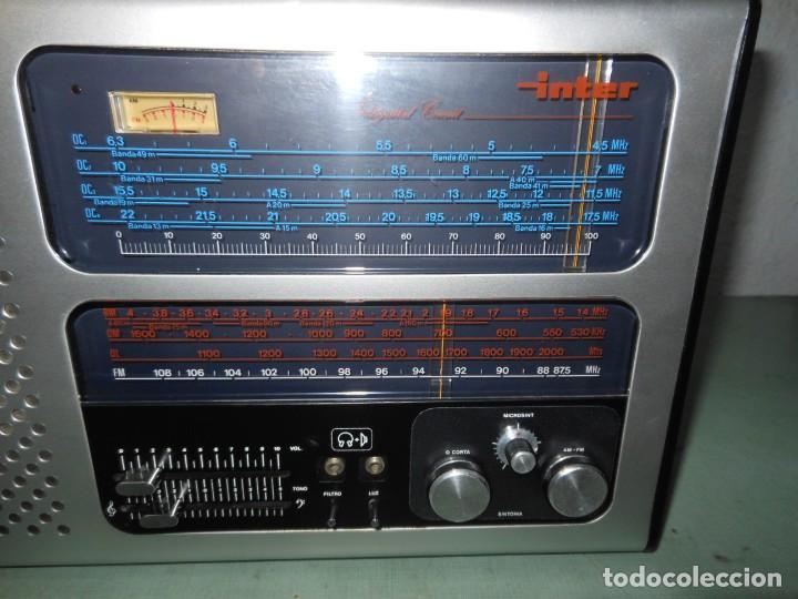Radios antiguas: RADIO MULTIBANDAS INTER EUROMODUL 134 - Foto 4 - 136301538