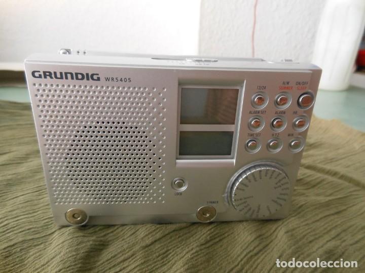 RADIO GRUNDIG WR 5405 (Radios, Gramófonos, Grabadoras y Otros - Transistores, Pick-ups y Otros)
