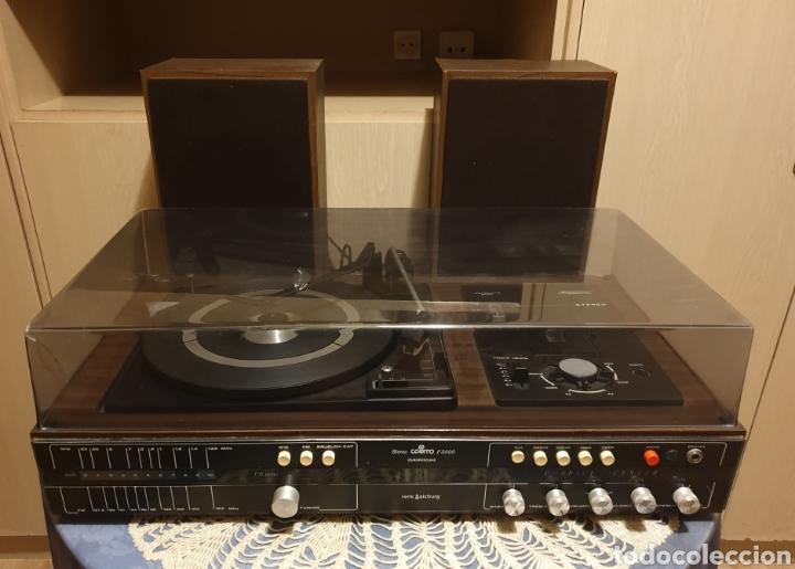 EQUIPO STEREO COSMO F5000 QUADROSOUND SERIE SALZBURG (Radios, Gramófonos, Grabadoras y Otros - Transistores, Pick-ups y Otros)