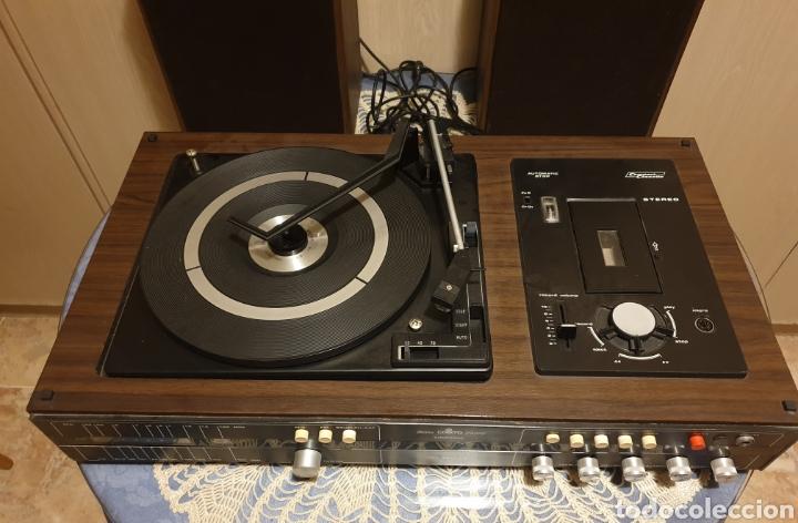Radios antiguas: EQUIPO STEREO COSMO F5000 QUADROSOUND SERIE SALZBURG - Foto 2 - 136516493