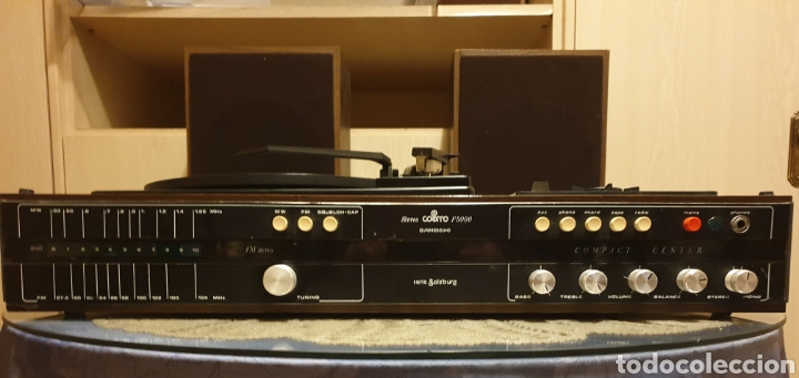 Radios antiguas: EQUIPO STEREO COSMO F5000 QUADROSOUND SERIE SALZBURG - Foto 3 - 136516493