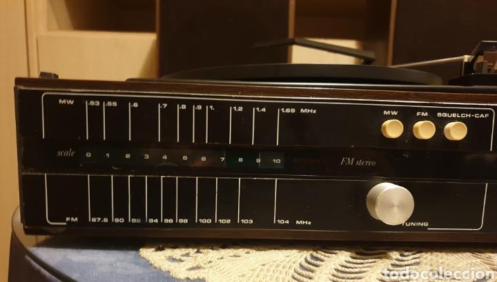 Radios antiguas: EQUIPO STEREO COSMO F5000 QUADROSOUND SERIE SALZBURG - Foto 4 - 136516493
