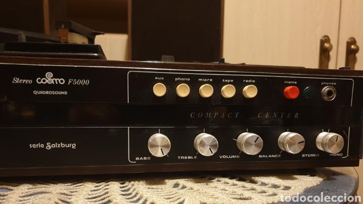 Radios antiguas: EQUIPO STEREO COSMO F5000 QUADROSOUND SERIE SALZBURG - Foto 5 - 136516493