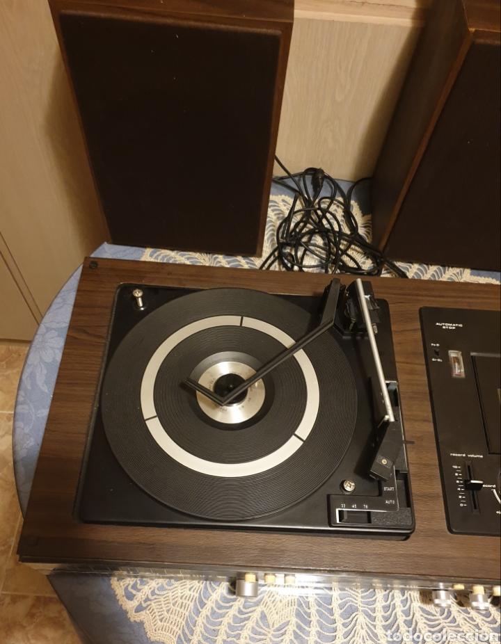 Radios antiguas: EQUIPO STEREO COSMO F5000 QUADROSOUND SERIE SALZBURG - Foto 7 - 136516493