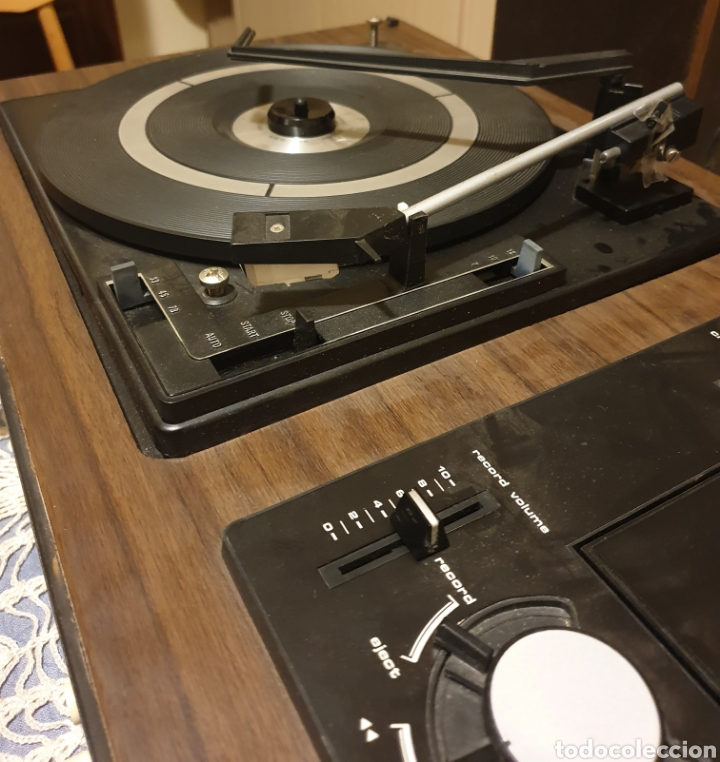 Radios antiguas: EQUIPO STEREO COSMO F5000 QUADROSOUND SERIE SALZBURG - Foto 8 - 136516493
