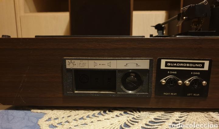 Radios antiguas: EQUIPO STEREO COSMO F5000 QUADROSOUND SERIE SALZBURG - Foto 11 - 136516493