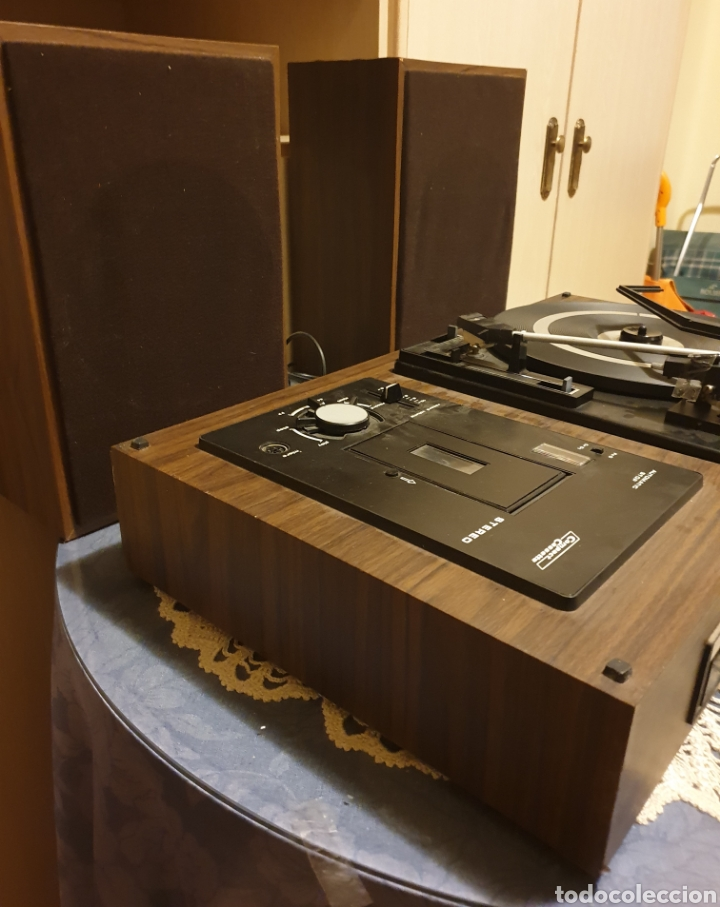 Radios antiguas: EQUIPO STEREO COSMO F5000 QUADROSOUND SERIE SALZBURG - Foto 15 - 136516493