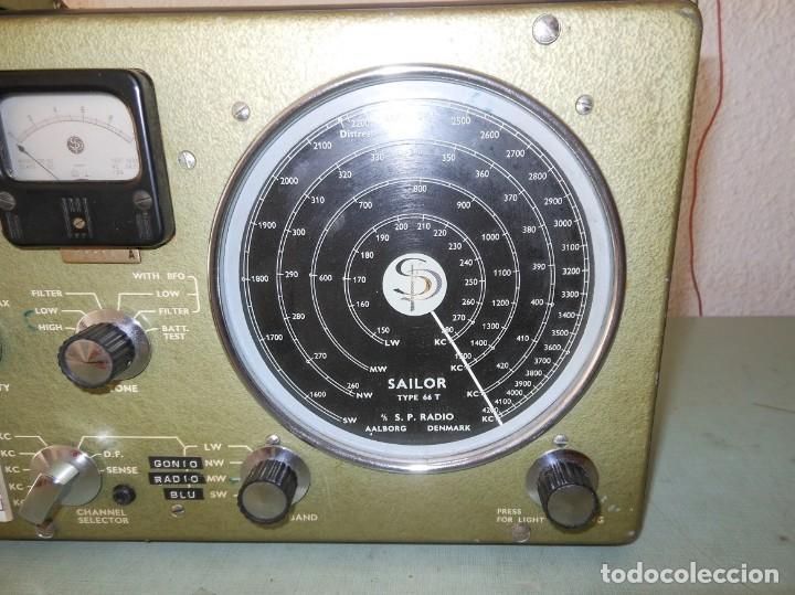 Radios antiguas: RADIO SAILOR TYPE 66T - Foto 4 - 136516922
