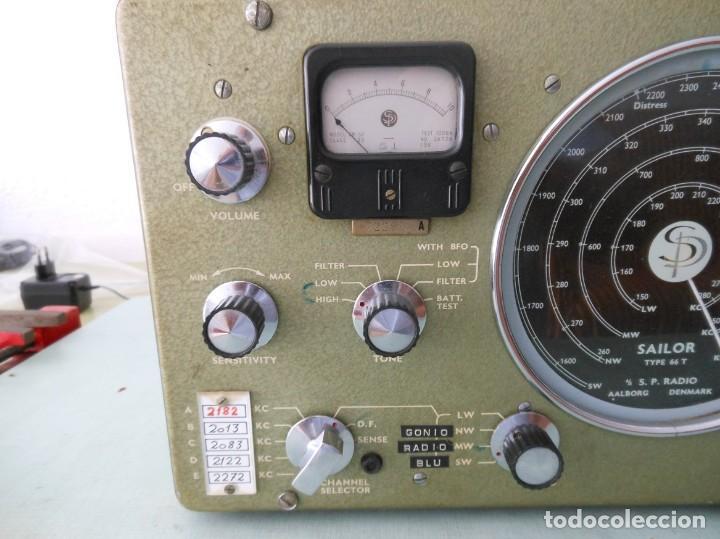 Radios antiguas: RADIO SAILOR TYPE 66T - Foto 7 - 136516922