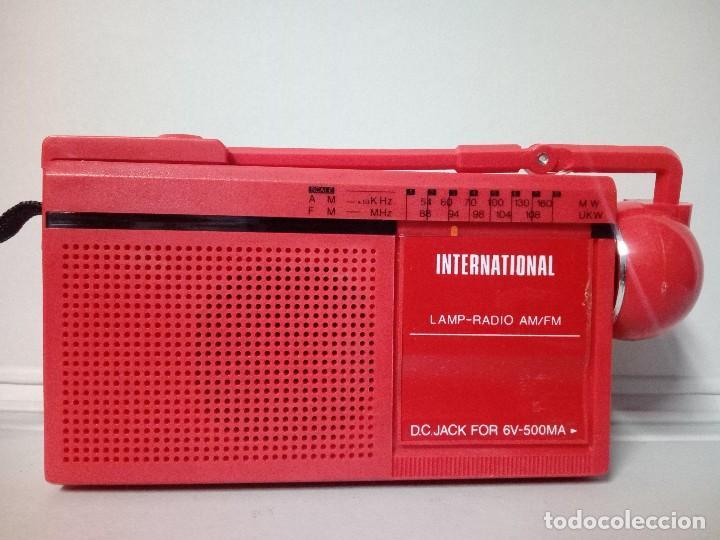 RADIO TRANSISTOR INTERNATIONAL FX-7 (Radios, Gramófonos, Grabadoras y Otros - Transistores, Pick-ups y Otros)