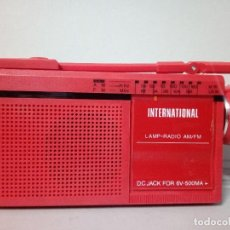 Radios antiguas: RADIO TRANSISTOR INTERNATIONAL FX-7. Lote 136782882