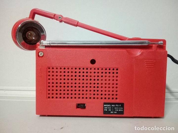 Radios antiguas: Radio transistor International FX-7 - Foto 3 - 136782882