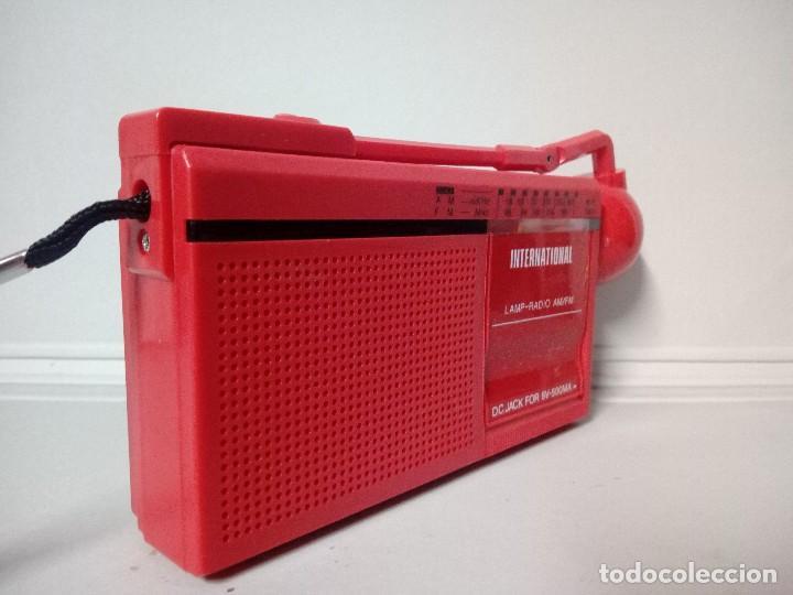 Radios antiguas: Radio transistor International FX-7 - Foto 4 - 136782882