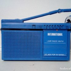Radios antiguas: RADIO TRANSISTOR INTERNATIONAL FX 7. Lote 136783658