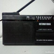 Radios antiguas: RADIO TRANSISTOR INTERNATIONAL FX-7. Lote 136795798