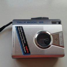 Radios antiguas: SANYO TALK BOOK VAS CASSETTE RECORDÉ MODEL M 1270 C. Lote 137212590