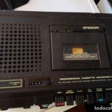 Radios antiguas: SUPERSCOPE PROFESIONAL C 204. Lote 137222698