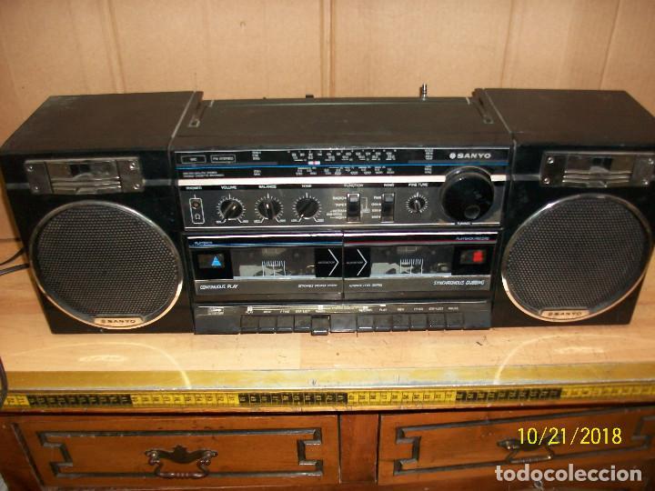 RADIO SANYO MODELO MW170K (Radios, Gramófonos, Grabadoras y Otros - Transistores, Pick-ups y Otros)