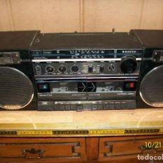 Radios antiguas: RADIO SANYO MODELO MW170K. Lote 137240786