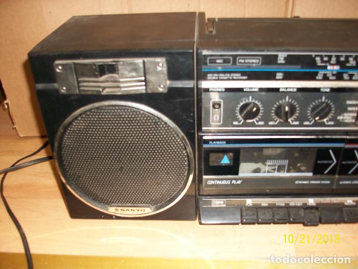 Radios antiguas: RADIO SANYO MODELO MW170K - Foto 2 - 137240786