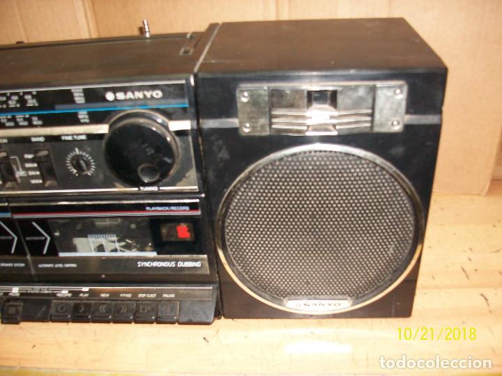 Radios antiguas: RADIO SANYO MODELO MW170K - Foto 3 - 137240786