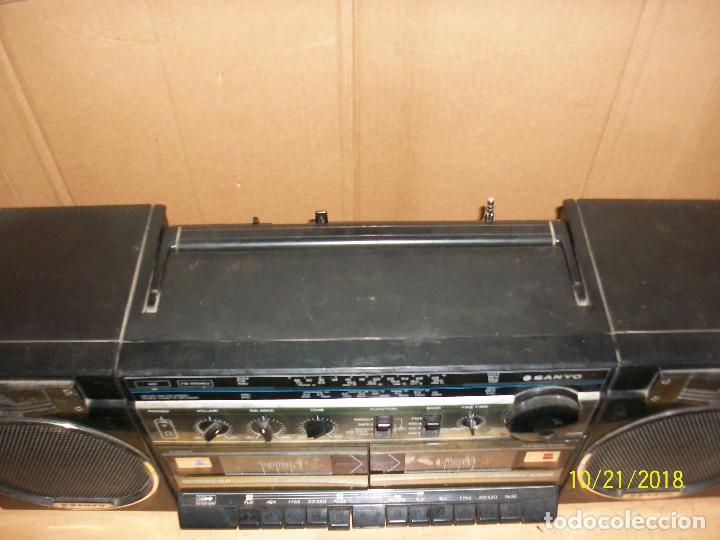 Radios antiguas: RADIO SANYO MODELO MW170K - Foto 4 - 137240786