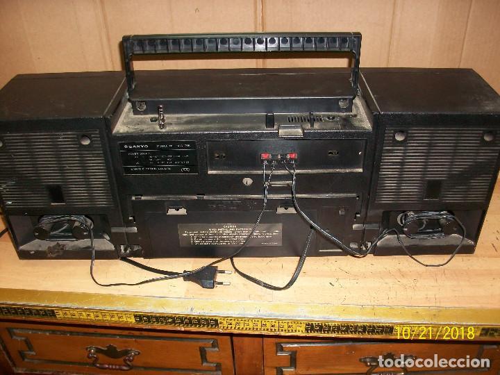 Radios antiguas: RADIO SANYO MODELO MW170K - Foto 5 - 137240786