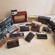 Radios antiguas: LOTE ANTIGUA RADIO TRANSISTOR BOOMBOX VALVULAS PHILIPS GRUNDIG PANASONIC VANGUARD SANYO CASTILLA. Lote 137355822