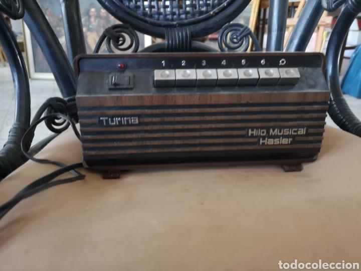 HILO MUSICAL HASLER TURINA (Radios, Gramófonos, Grabadoras y Otros - Transistores, Pick-ups y Otros)
