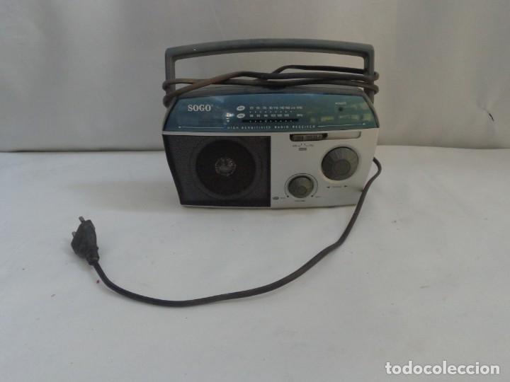 RADIO PORTATIL SOGA MODEL SS112 (Radios, Gramófonos, Grabadoras y Otros - Transistores, Pick-ups y Otros)
