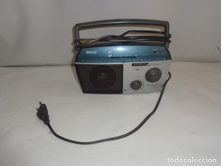 Radios antiguas: Radio Portatil Soga Model SS112 - Foto 2 - 137744050