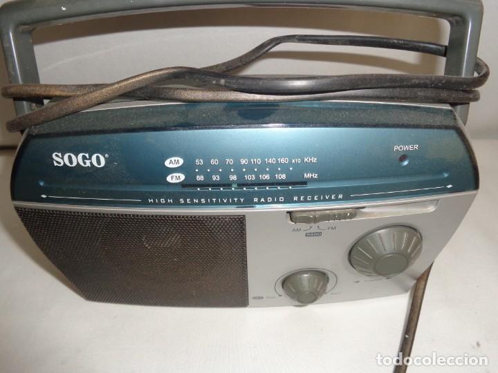 Radios antiguas: Radio Portatil Soga Model SS112 - Foto 3 - 137744050