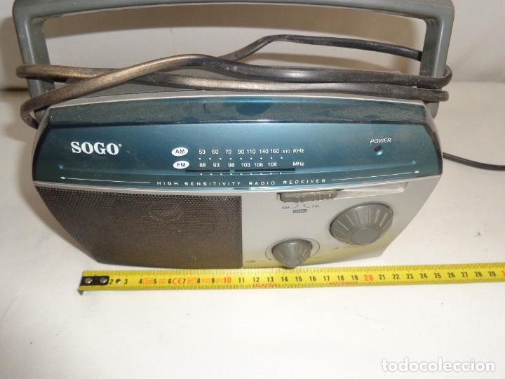 Radios antiguas: Radio Portatil Soga Model SS112 - Foto 11 - 137744050