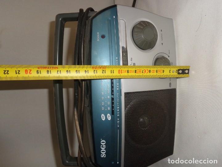 Radios antiguas: Radio Portatil Soga Model SS112 - Foto 12 - 137744050