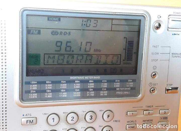 Radios antiguas: RADIO RECEPTOR MULTIBANDA SANGEAN ATS 909 - Foto 3 - 137883666