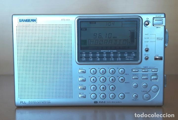 Radios antiguas: RADIO RECEPTOR MULTIBANDA SANGEAN ATS 909 - Foto 4 - 137883666