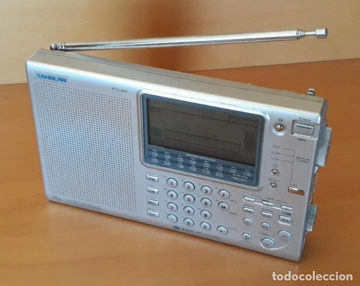 Radios antiguas: RADIO RECEPTOR MULTIBANDA SANGEAN ATS 909 - Foto 10 - 137883666