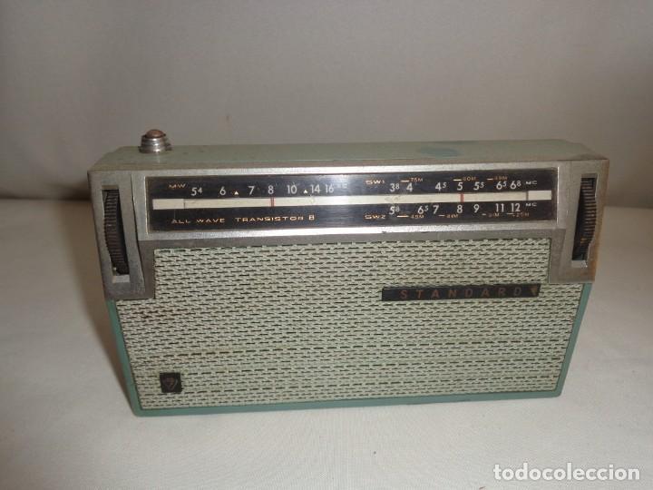 RADIO PORTATIL 8 STANDARD ALL WAVE TRANSISTOR 8 - JAPAN (Radios, Gramófonos, Grabadoras y Otros - Transistores, Pick-ups y Otros)