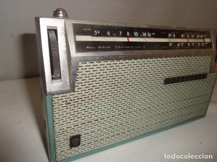 Radios antiguas: Radio Portatil 8 Standard All Wave Transistor 8 - Japan - Foto 6 - 138008462