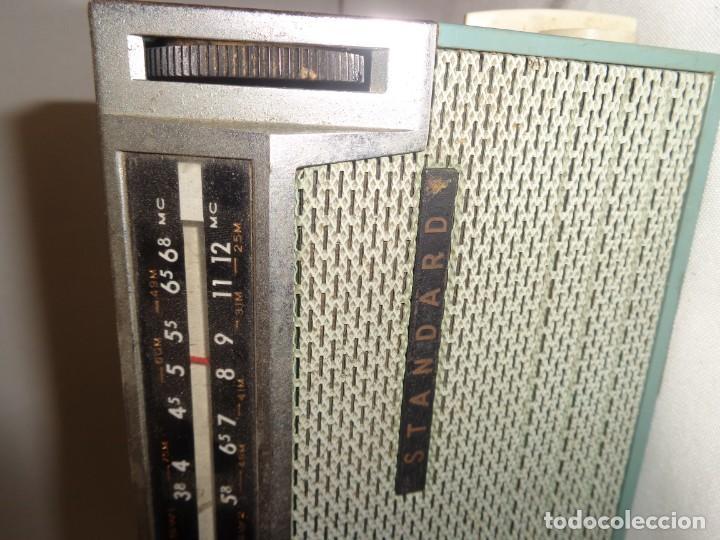 Radios antiguas: Radio Portatil 8 Standard All Wave Transistor 8 - Japan - Foto 7 - 138008462
