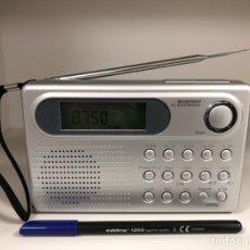 Radios antiguas: RADIO TRANSISTOR SILVER CREST DIGITAL DE 4 BANDAS.. Lote 138562513