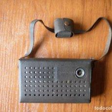 Radios antiguas: RADIO TRANSISTOR STANDARD FUNCIONANDO CON FUNDA Y AURICULAR. Lote 138600590